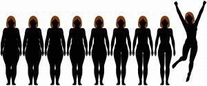 silhouettes De la perte de poids au tonus retrouvé