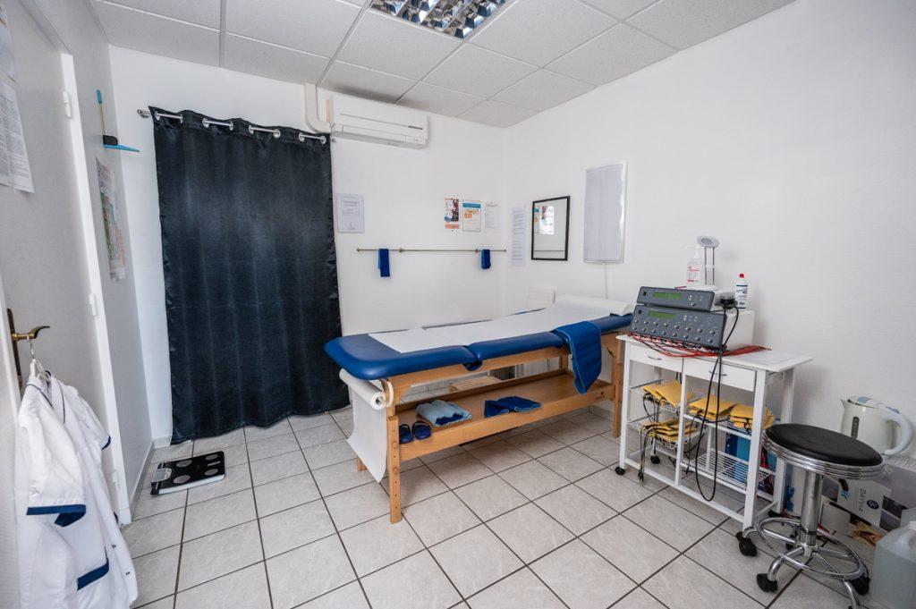 Salle de soin Centre Amincissement Méthode Laurand Montceau