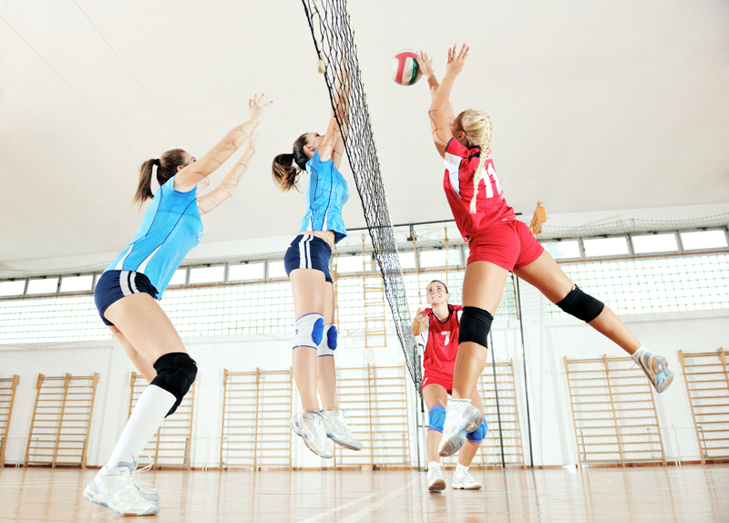 recup sportive pour team volley