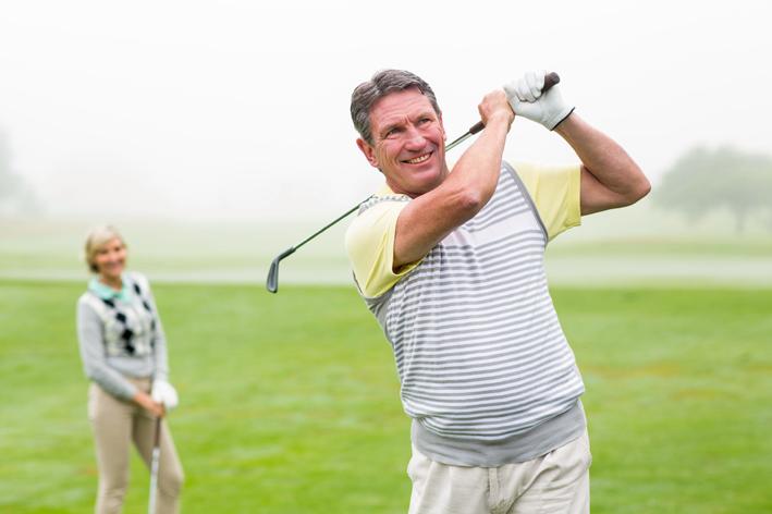 reprise du golf sport grace electrostimulation