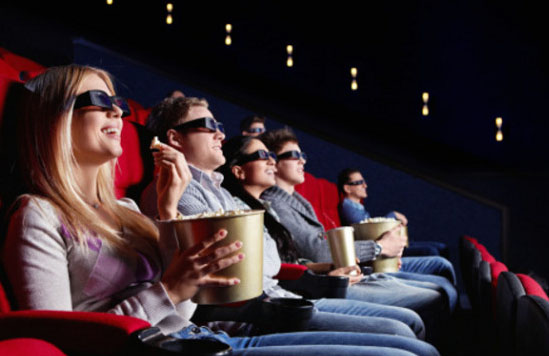 salle cinéma noire astuces marketing pour manger plus